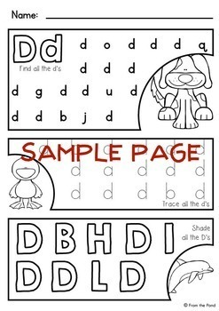 Alphabet Letter Worksheets