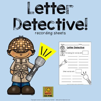 Letter Detective:  Using a Flashlight to Search for Word Parts