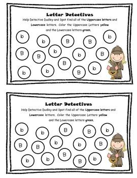 Letter Detectives