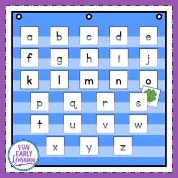 Letter Detectives Pocket Chart Game