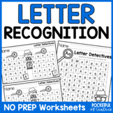 Letter Detectives {Printable A-Z Letter Searches}