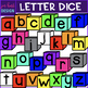 Letter Dice Clip Art Mini Bundle -  {jen hart Clip Art}