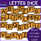 Alphabet Letters Clip Art - Uppercase Letter Dice {jen hart Clip Art}
