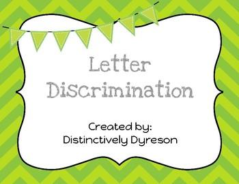 Letter Discrimination