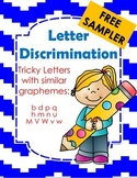 Letter Discrimination Free Sampler