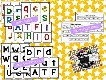 Letter Dominoes {Let's Learn Our Letters with Dominoes!}
