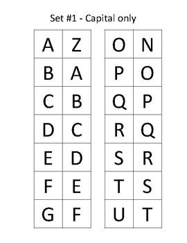 Letter Dominos