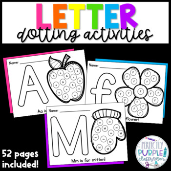 Letter Dotting Activities