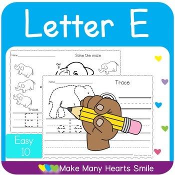 Easy 10: Letter E   MMHS25