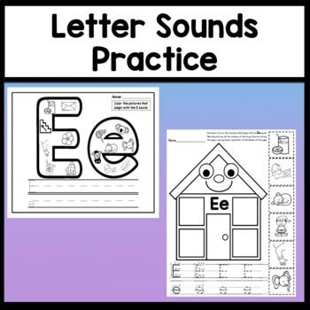 Letter E Activities {Letter E Book and 5 Letter E Worksheets!}