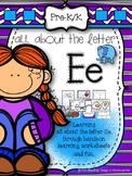 Letter E Activities for Pre-Kindergarten and Kindergarten