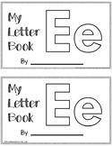 Letter E Alphabet Activity Book