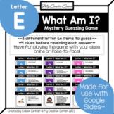 Letter E - Alphabet Digital Beginning Sounds Mystery Guess