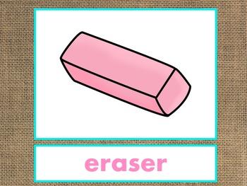 Letter E Alphabet PowerPoint Fun & Colorful Words w/Pictures (Expandable)