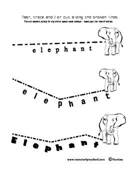 Letter E - BASIC Alphabet Curriculum for Preschool and Kindergarten