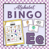 Letter E Bingo Game