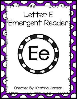 Letter E Book