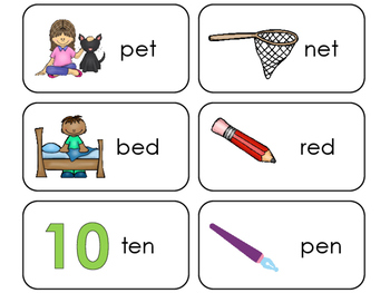 image relating to Letter E Printable known as Letter E CVC Think about and Term Printable Flashcards. Preschool-Kindergarten ELA