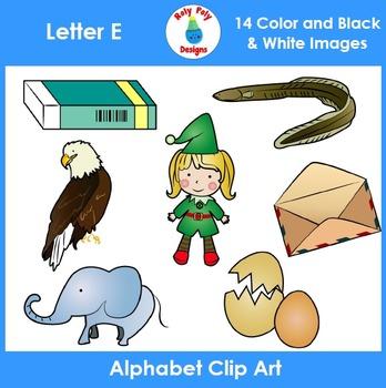 Letter E Clip Art Set