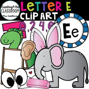 Letter E Clipart {Alphabet Clip art}