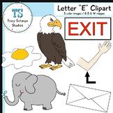 "Letter ""E"" Clipart Set {Tracy Sztanya Studios}"