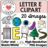 Letter E Alphabet Clipart by Clipart That Cares