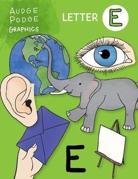 Letter E Graphics