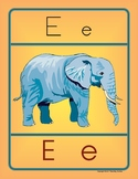 Letter E Handwriting and Recognition Practice