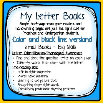 "Letter E ""I can read"" booklet for letter recognition, rhyming, and more."