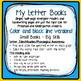 "Letter E ""I can read"" booklet for letter recognition, rhym"