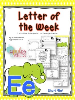 Letter E {Letter of the Week}