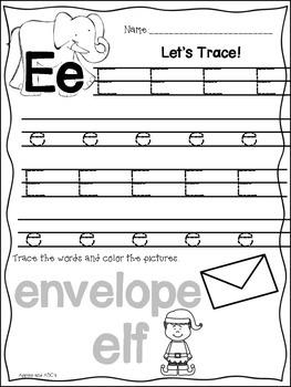 Letter E {Letter of the Week}
