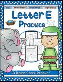 Letter E Practice Printables