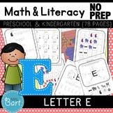 Letter E Activities- 44 Pages! {Common Core}