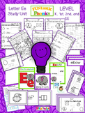Letter E - Study Unit
