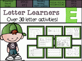 Letter Learners: Letter E