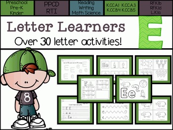 Letter Learners: Letter E