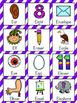 Letter E Vocabulary Cards