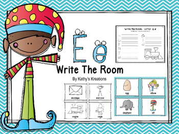 Letter E Write The Room