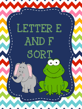 Letter E and F sort