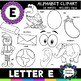 Letter E clipart - 20 images! For Commercial and Personal Use!