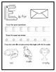Letter E from the Alphabet Mega Bundle/Letter of the Week