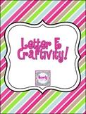 Letter E {long and short} Craftivity!