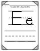 Aprendiendo la letra E