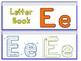 Letter Ee Binder Book