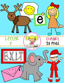 Letter Ee Clipart