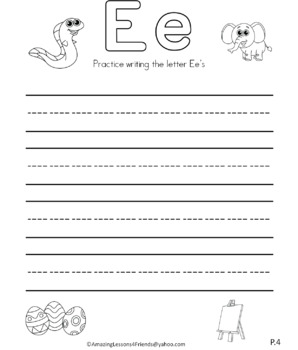 Letter Ee Journal
