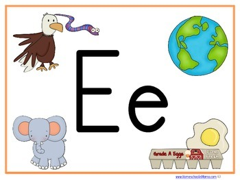 Letter Ee Learning Pack