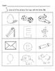 Letter Ee Words Coloring Worksheet