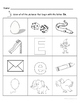 Letter Ee Words Coloring Worksheet